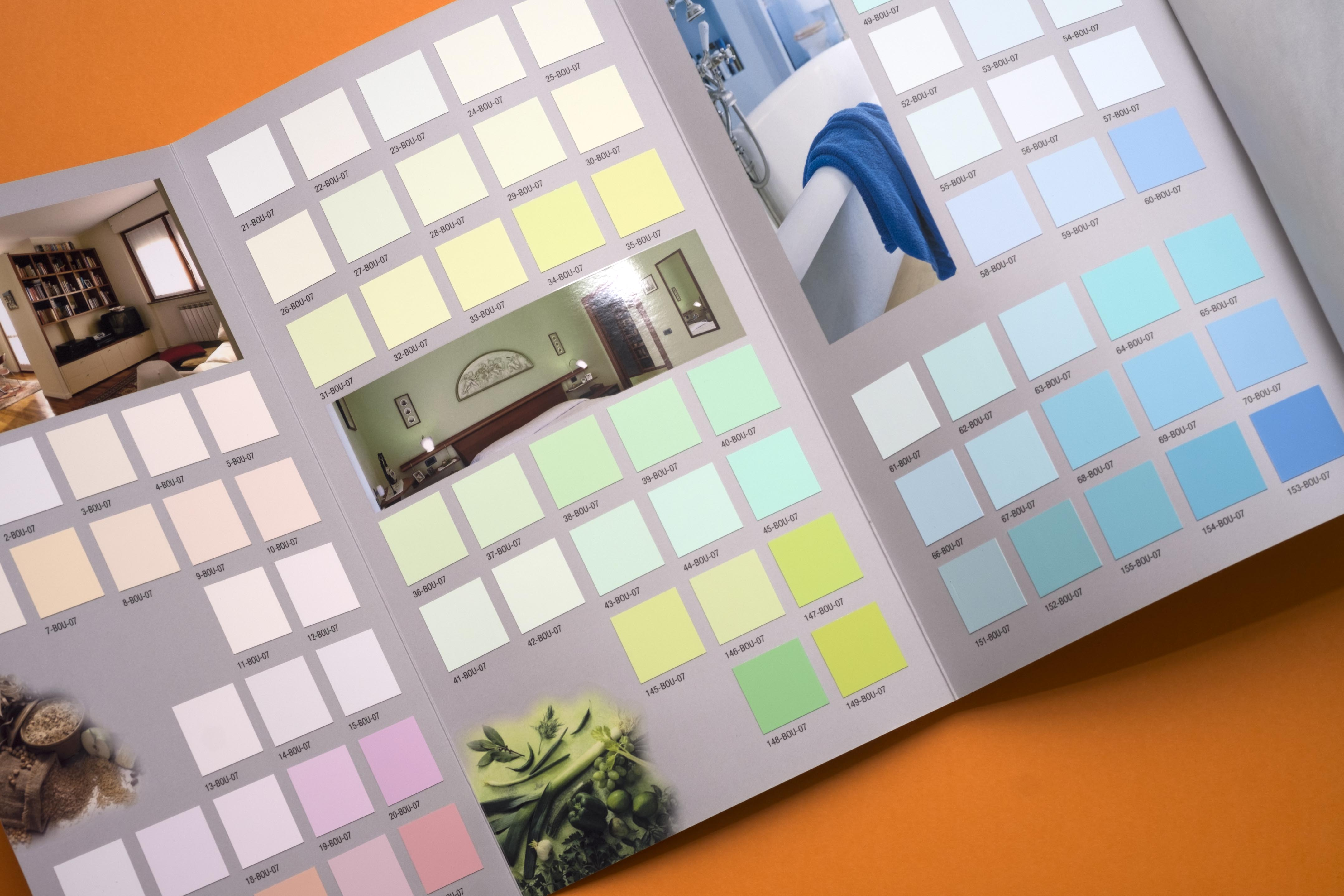 Color Cards   Campionari
